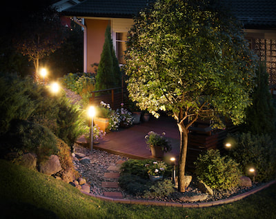 landscape lighting boerne
